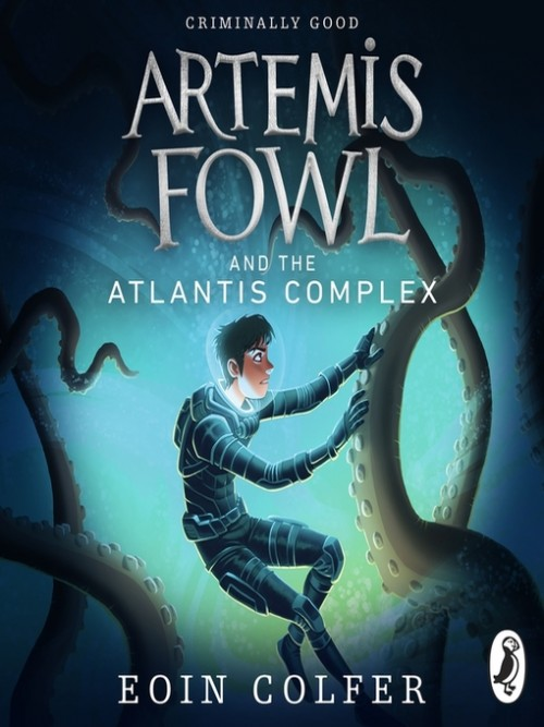 Artemis Fowl Series Book 7: Artemis Fowl and the Atlantis Complex Cover