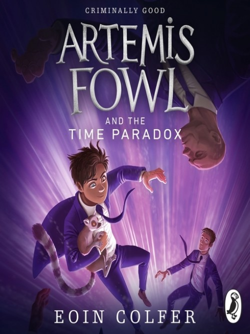 Artemis Fowl Series Book 6: Artemis Fowl and the Time Paradox Cover