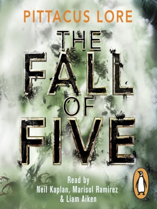 The Lorien Legacy 4: The Fall of Five Cover