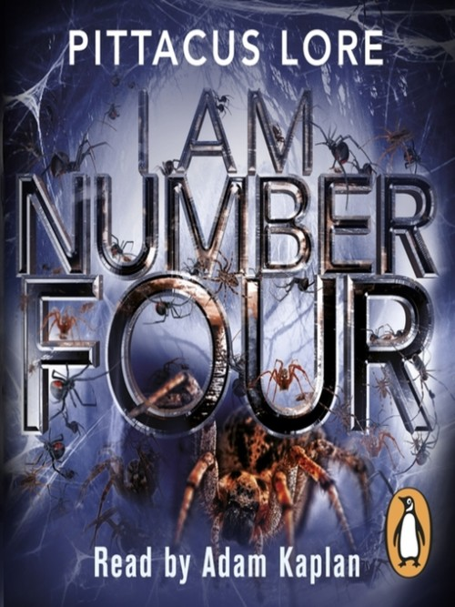 The Lorien Legacies 1: I Am Number Four Cover