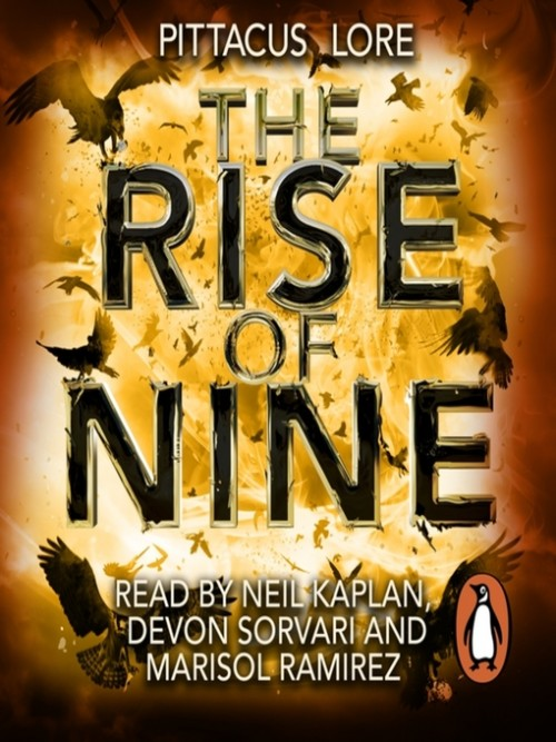 The Lorien Legacies 3: The Rise of Nine Cover