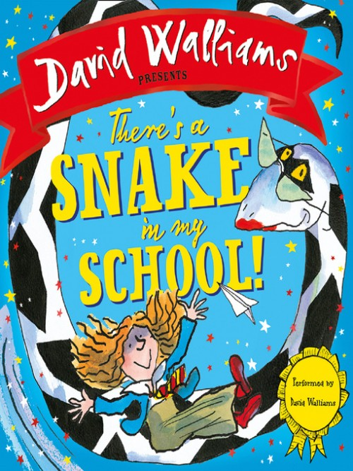 There's A Snake In My School! Cover