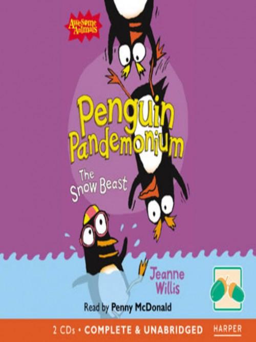 Penguin Pandemonium: The Snow Beast Cover