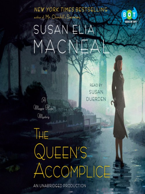 Maggie Hope Book 6: The Queen's Accomplice Cover