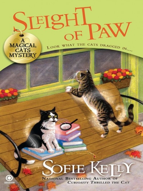 Magical Cats Mystery Book 2: Sleight of Paw Cover