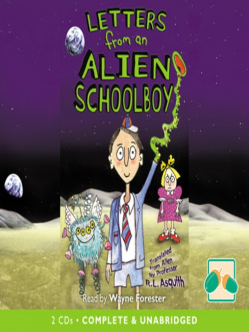 Letters From An Alien Schoolboy Book 1 Cover