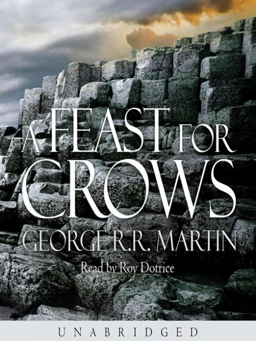 A Song of Ice and Fire Series Book 4: Feast For Crows Cover