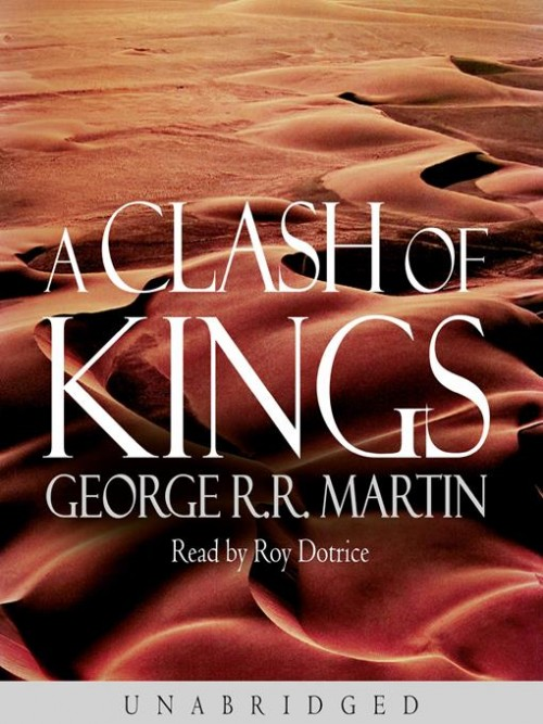 A Song of Ice and Fire Series Book 2: A Clash of Kings Cover