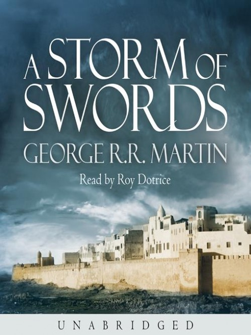 A Song of Ice and Fire Series Book 3: A Storm of Swords Cover