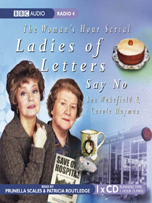Ladies of Letters Say No Cover