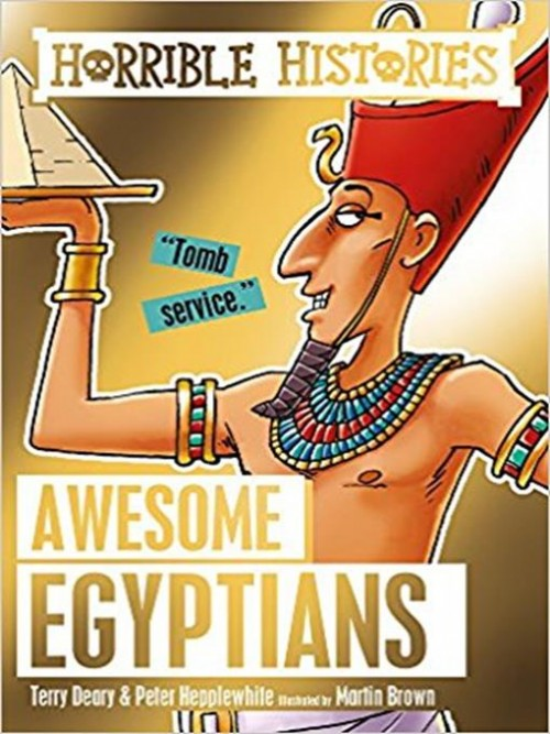 Horrible Histories: Awesome Egyptians Cover