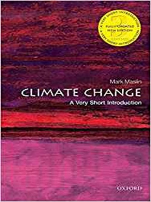 Climate Change: A Very Short Introduction Cover