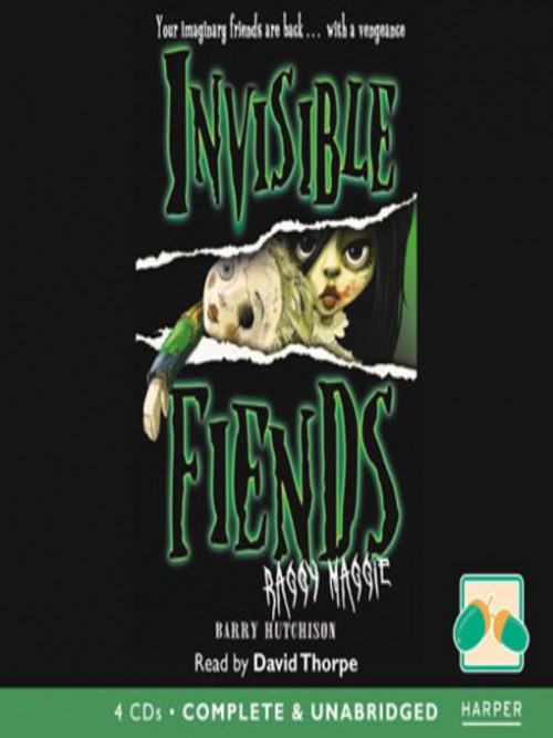 Invisible Fiends: Raggy Maggie Cover