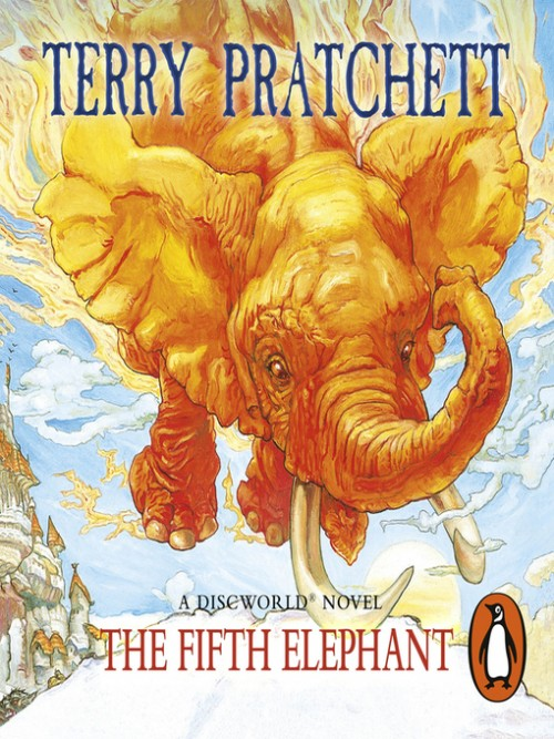 Discworld Series Book 24: The Fifth Elephant Cover