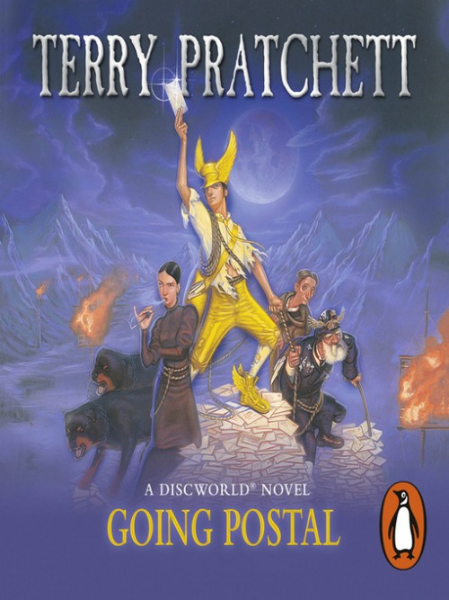 Discworld Series Book 33: Going Postal Cover
