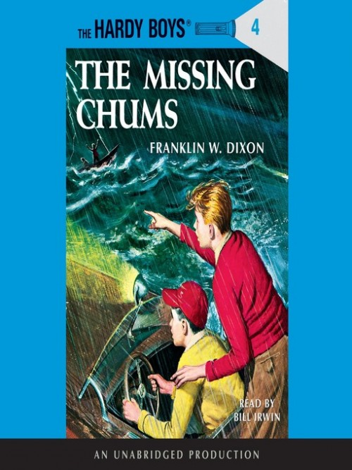 The Hardy Boys Series Book 4: The Missing Chums Cover