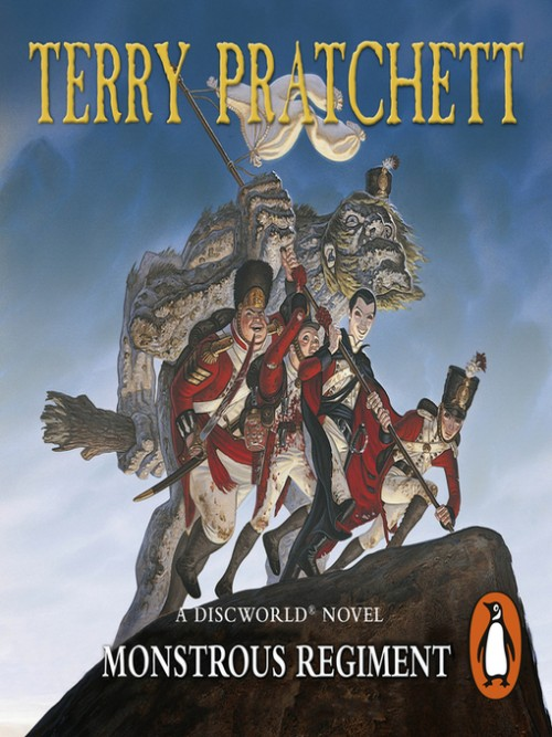 Discworld Series Book 31: Monstrous Regiment Cover