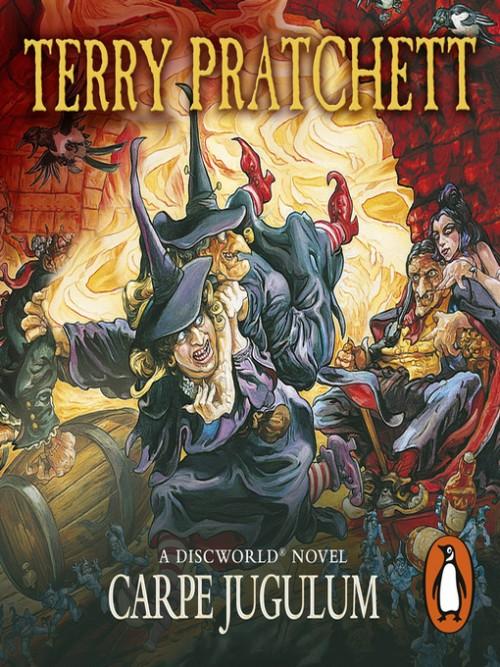 Discworld Series Book 23: Carpe Jugulum Cover