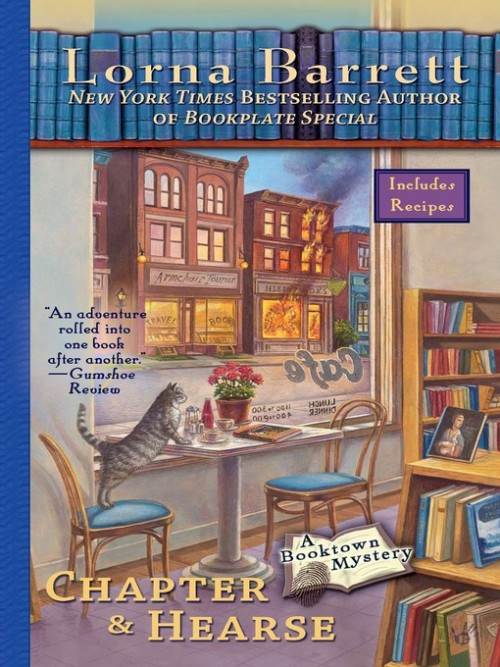 Booktown Mystery Series Book 4: Chapter and Hearse Cover