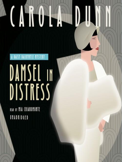 Daisy Dalrymple Book 5: Damsel In Distress Cover