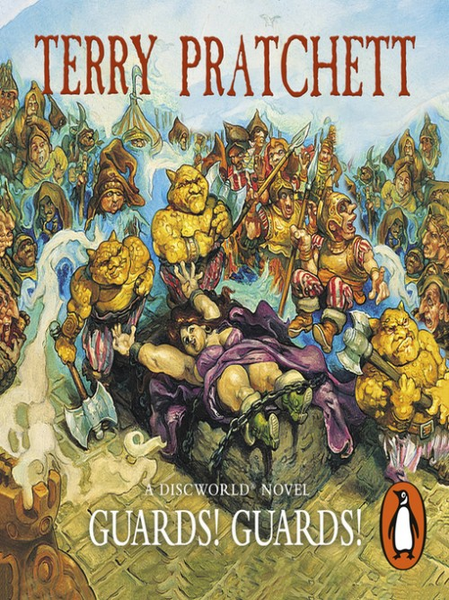 Discworld Series Book 8: Guards! Guards! Cover