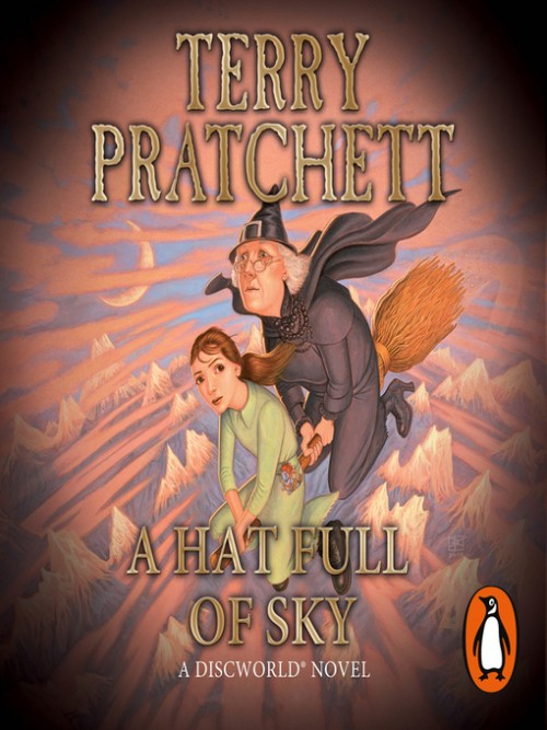 Discworld Series Book 32: A Hat Full of Sky Cover