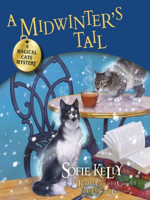 Magical Cats Mystery Book 6: A Midwinter's Tail Cover