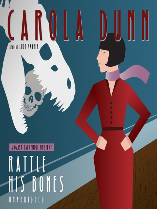 Daisy Dalrymple Book 8: Rattle His Bones Cover