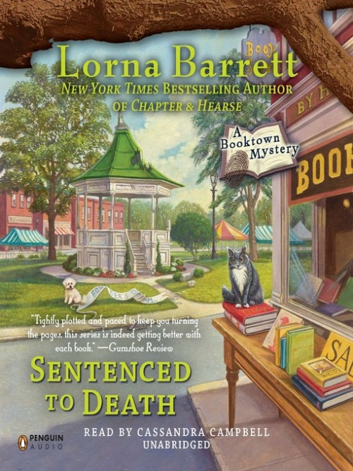 Booktown Mystery Series Book 5: Sentenced To Death Cover