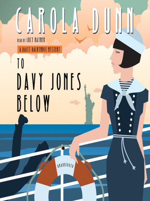 Daisy Dalrymple Book 9: To Davy Jones Below Cover
