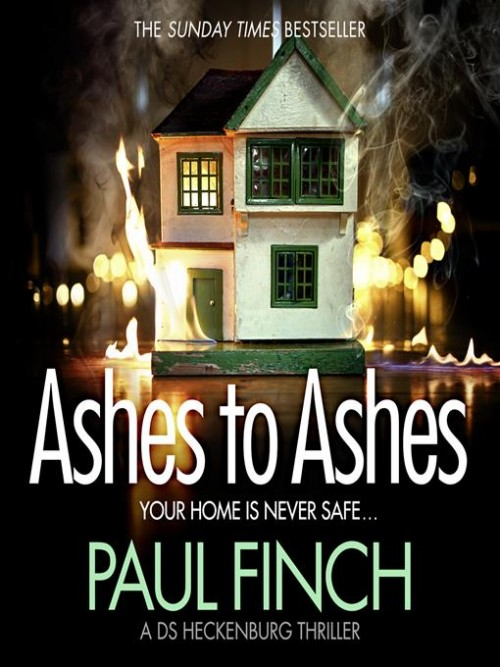 Detective Mark Heckenburg Series Book 6: Ashes To Ashes Cover