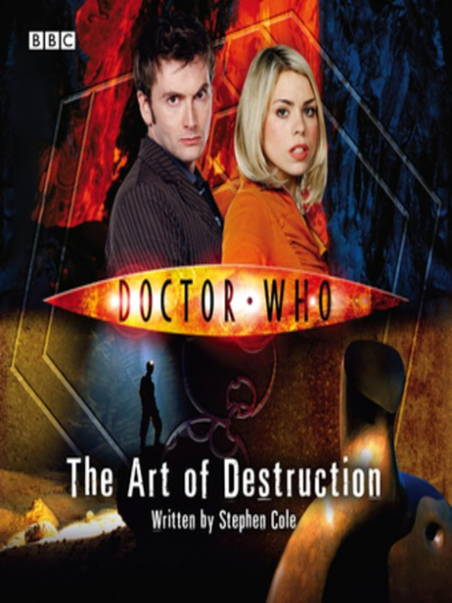 Doctor Who: The Art of Destruction Cover