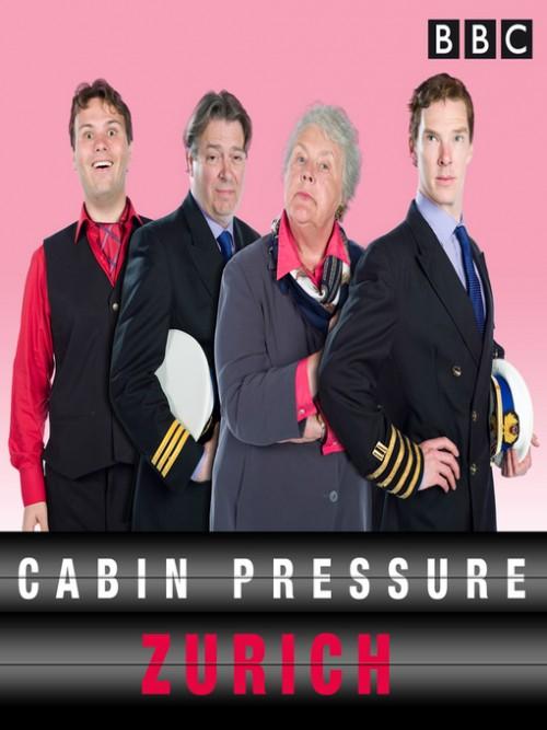 Cabin Pressure: Zurich Cover