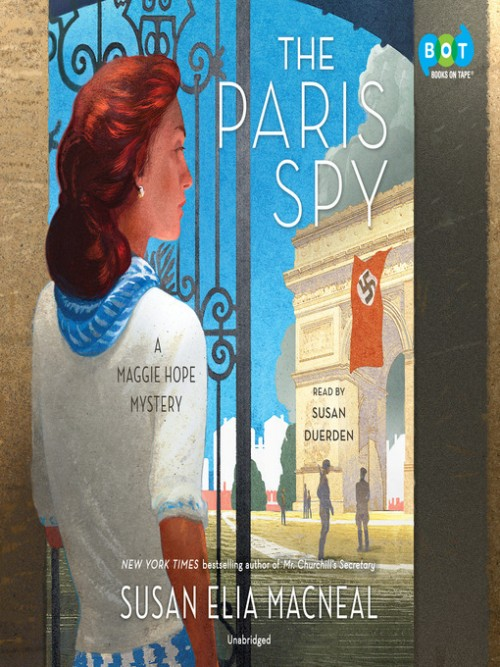 The Paris Spy: Maggie Hope Series Book 7 Cover