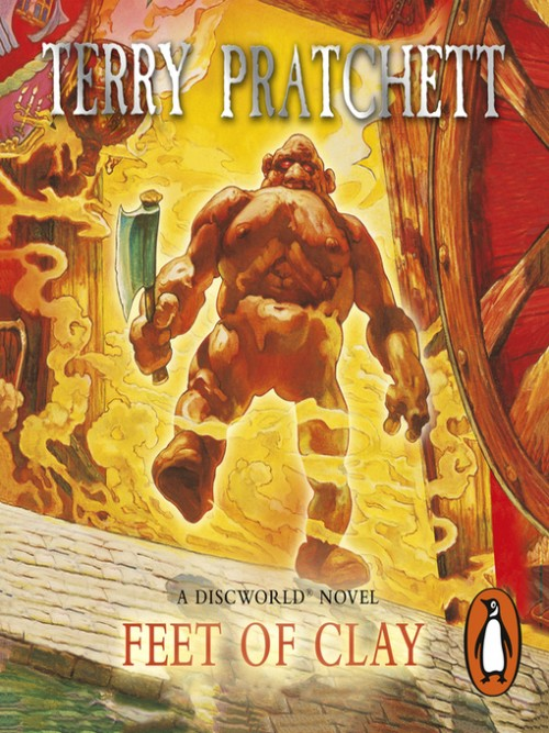 Discworld Series Book 19: Feet of Clay Cover