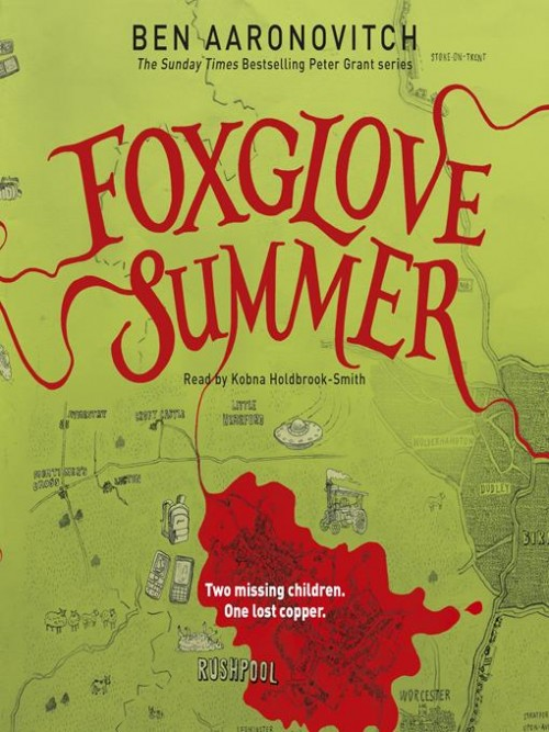 Rivers of London Book 5: Foxglove Summer Cover