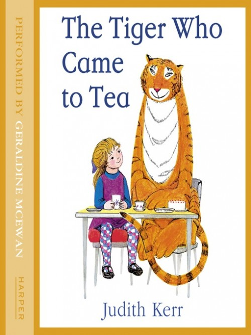 The Tiger Who Came To Tea Cover
