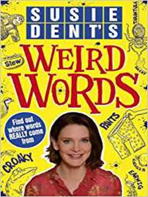 Susie Dent's Weird Words Cover