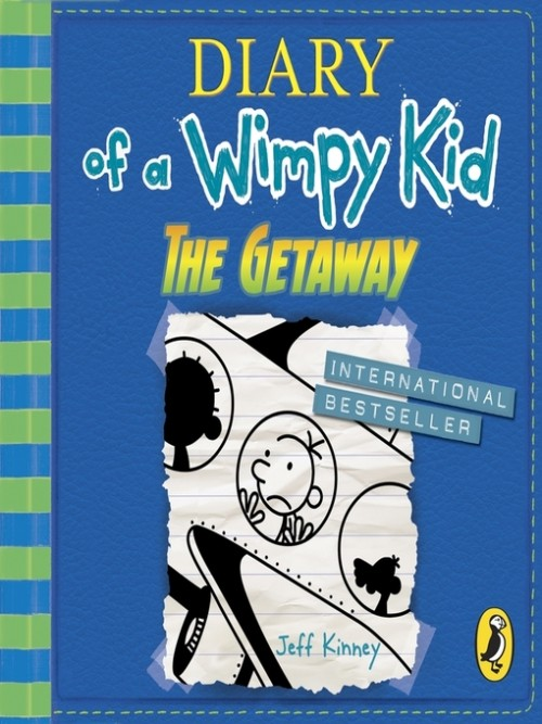 Diary of A Wimpy Kid Book 12: The Getaway Cover