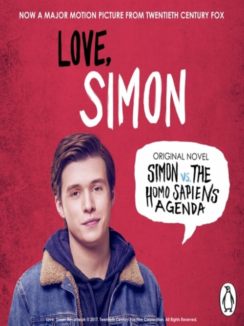 Creekwood Series Book 1: Simon Vs. the Homosapiens Agenda Cover