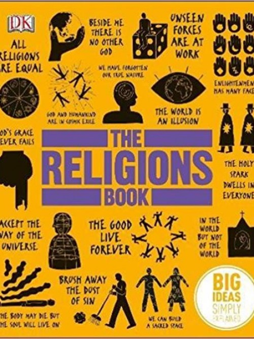 The Religions Book: Big Ideas Simply Explained Cover