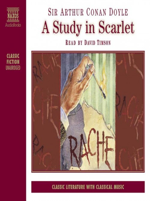 Sherlock Holmes Book 1: A Study In Scarlet Cover