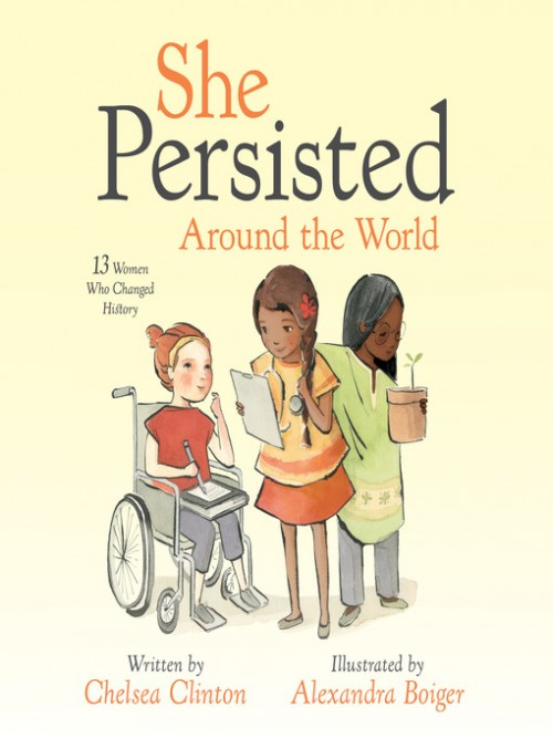 She Persisted Around the World Cover