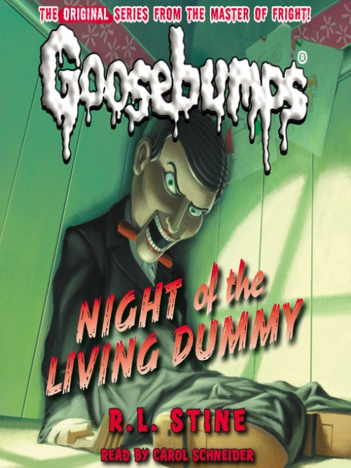 Goosebumps Series Book 7: Night of the Living Dummy Cover
