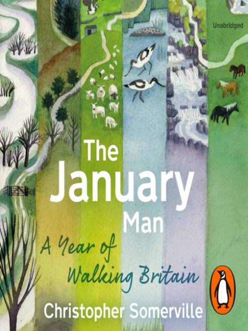 The January Man: A Year of Walking Britain Cover