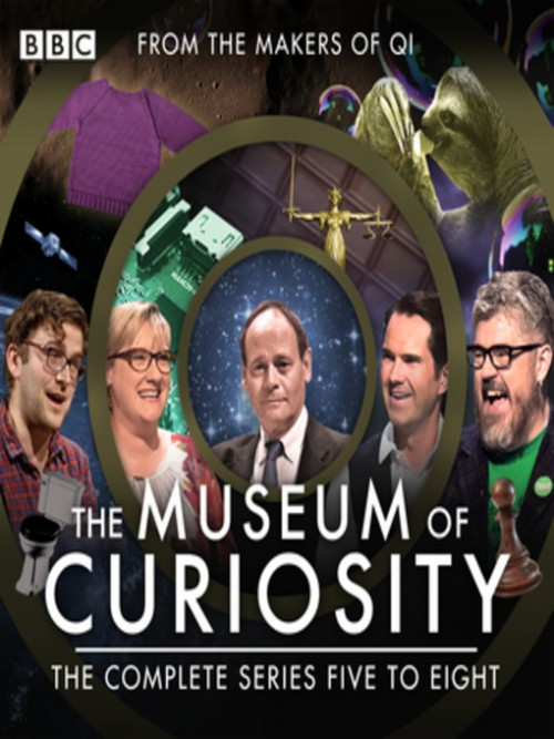 The Museum of Curiosity: Series 5 - 8 Cover