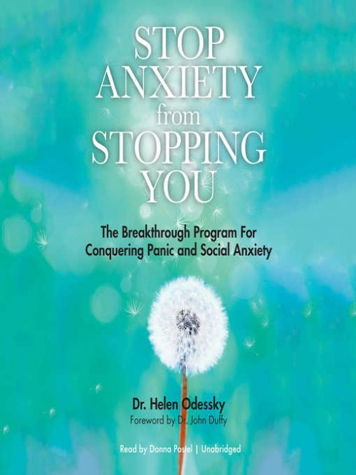 Stop Anxiety From Stopping You Cover