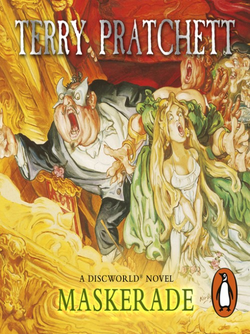 Discworld Series Books 18: Maskerade Cover
