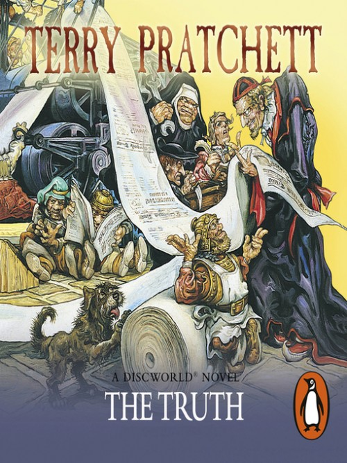 Discworld Series Book 25: The Truth Cover