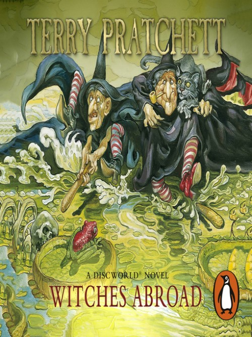Discworld Series Book 12: Witches Abroad Cover